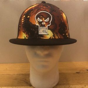 Authentic Marvel Punisher Graphic SnapBack Hat
